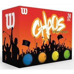 Wilson Chaos Colored Golf Balls 2020