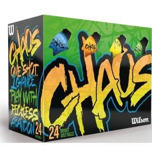 Wilson Chaos Colored Golf Balls - ON SALE