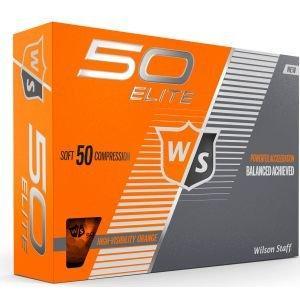 Wilson Fifty Elite Golf Balls Orange