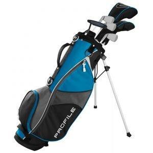 Wilson Junior Kids Large Profile JGI Complete Carry Golf Club Set Blue Age 11-13