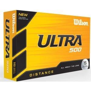 Wilson Ultra Distance 500 Golf Balls 15 Ball Pack