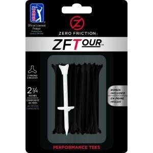 Zero Friction 2 3/4 3 Prong Performance Golf Tees