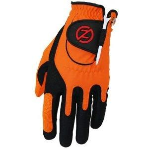 Zero Friction Youth Compression Golf Glove Kids Orange