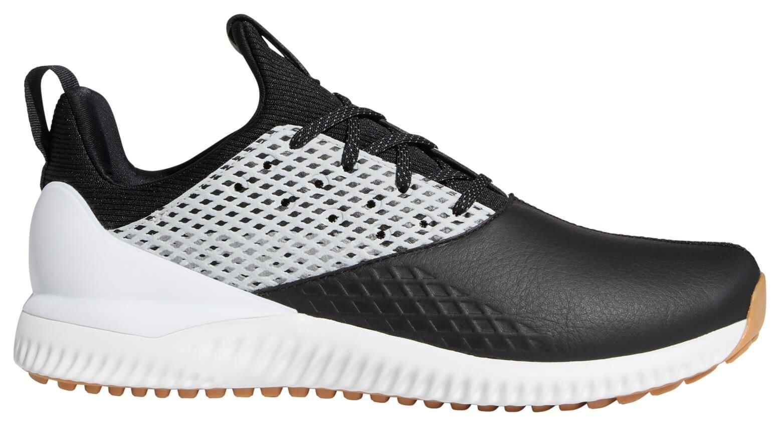 Adidas Adicross Bounce 2 0 Golf Shoes 2020 Black Silver White Carl S Golfland