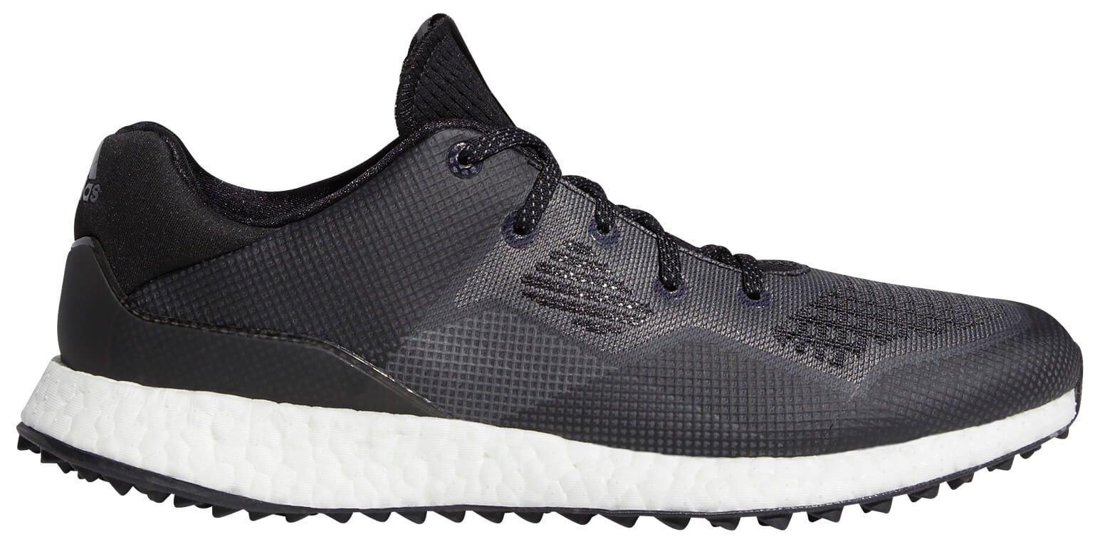 Adidas Crossknit Dpr Golf Shoes 2020 Black White Grey Carl S Golfland