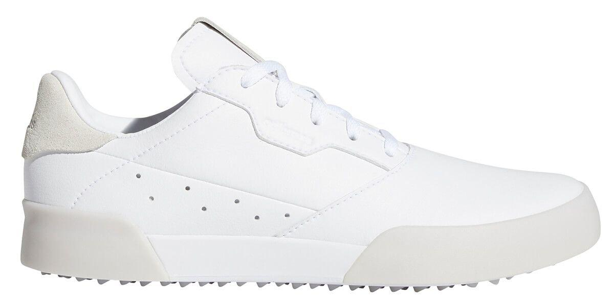 adidas Junior Adircross Retro Golf Shoes White - ON SALE