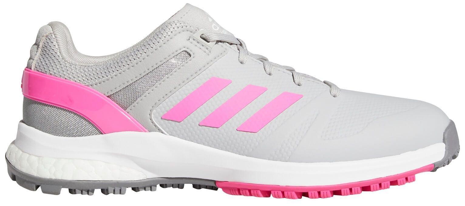 adidas Womens EQT Spikeless Golf Shoes 2021 - Grey/Pink/Grey
