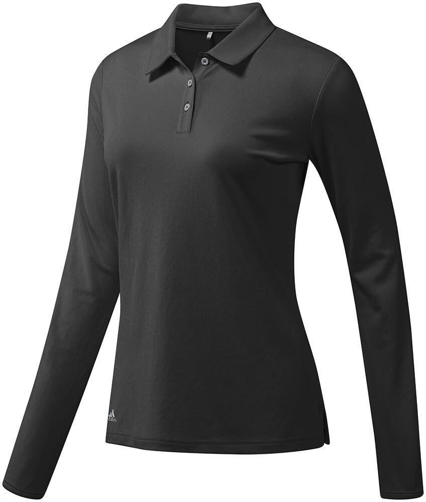 Adidas Womens Performance Long Sleeve Golf Polo - Carl's Golfland