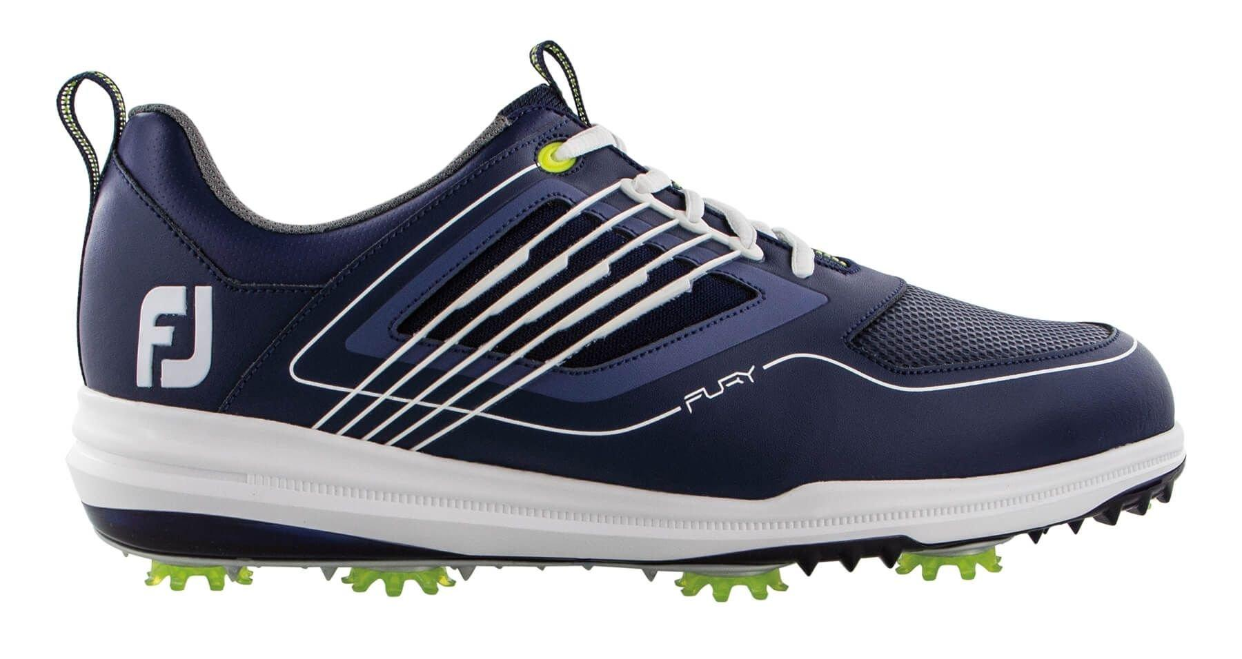 Footjoy Fury Golf Shoes Navy White 51101 Carl S Golfland