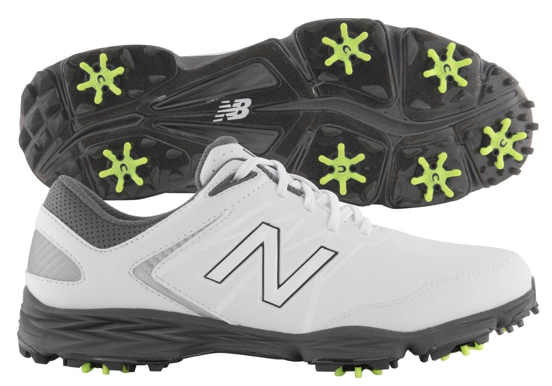 eslogan hipocresía historia  New Balance NBG2005 Striker Golf Shoes White/Grey ON SALE - Carl's Golfland