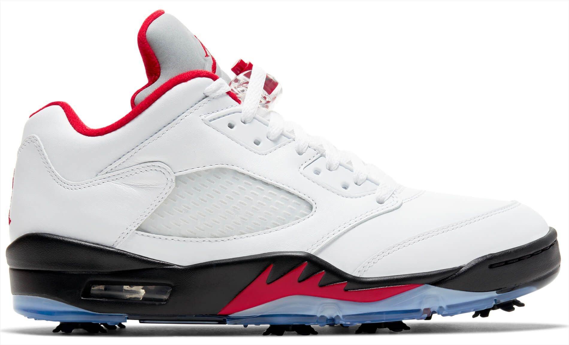 Nike Air Jordan V Low Golf Shoes White