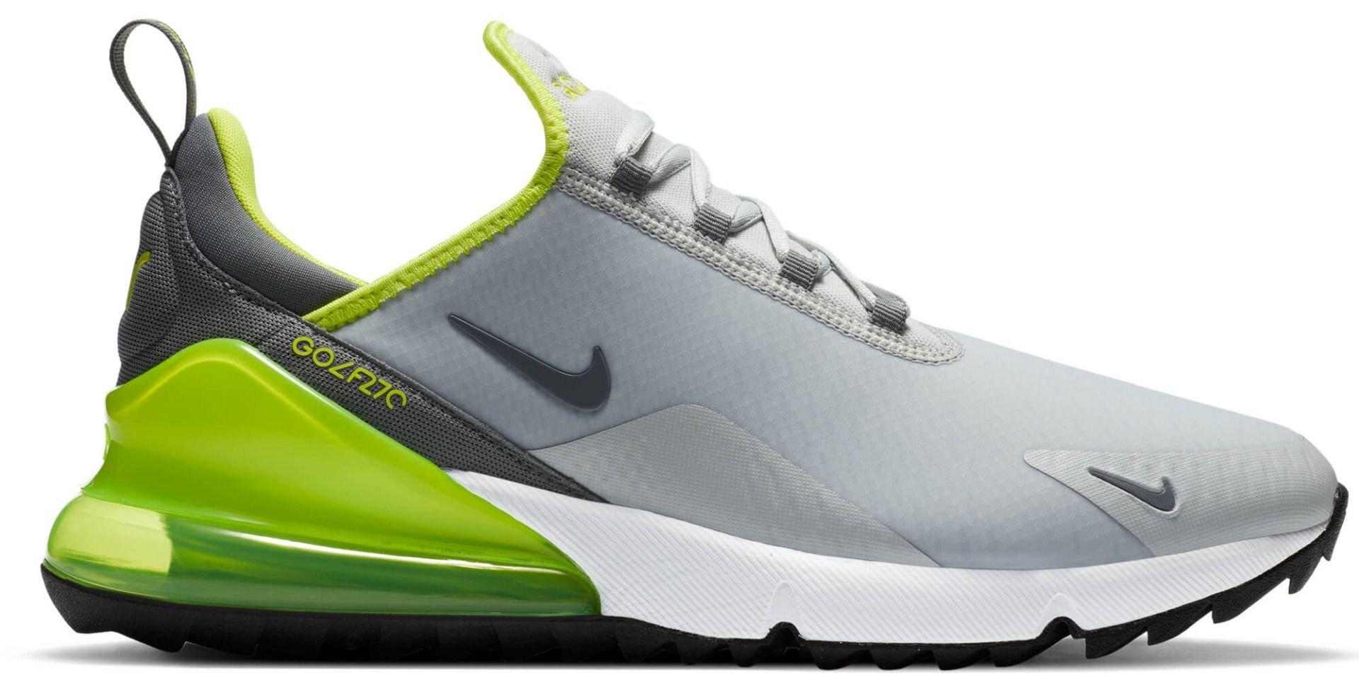 Nike Air Max 270 G Golf Shoes 2020 - Grey Fog/Smoke Grey/White/Black