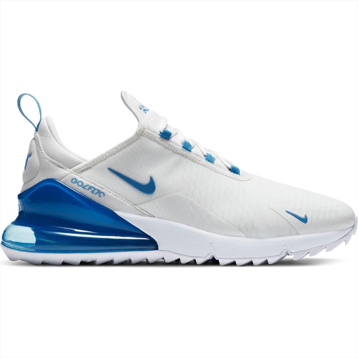 Nike Air Max 270 G Golf Shoes 2020 - Summit White/Coast/White
