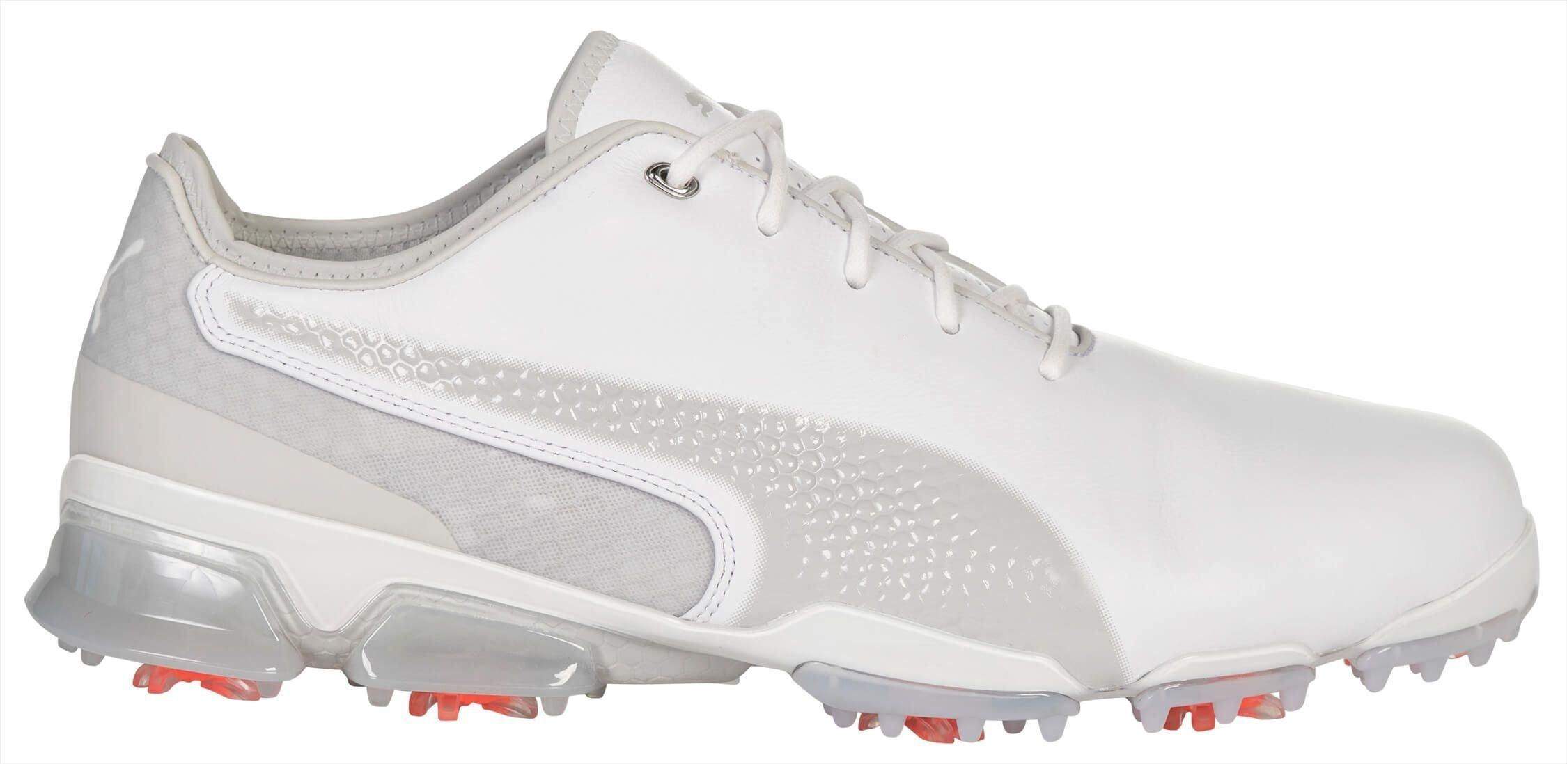 Puma Ignite Proadapt Golf Shoes White Gray Violet Carl S Golfland