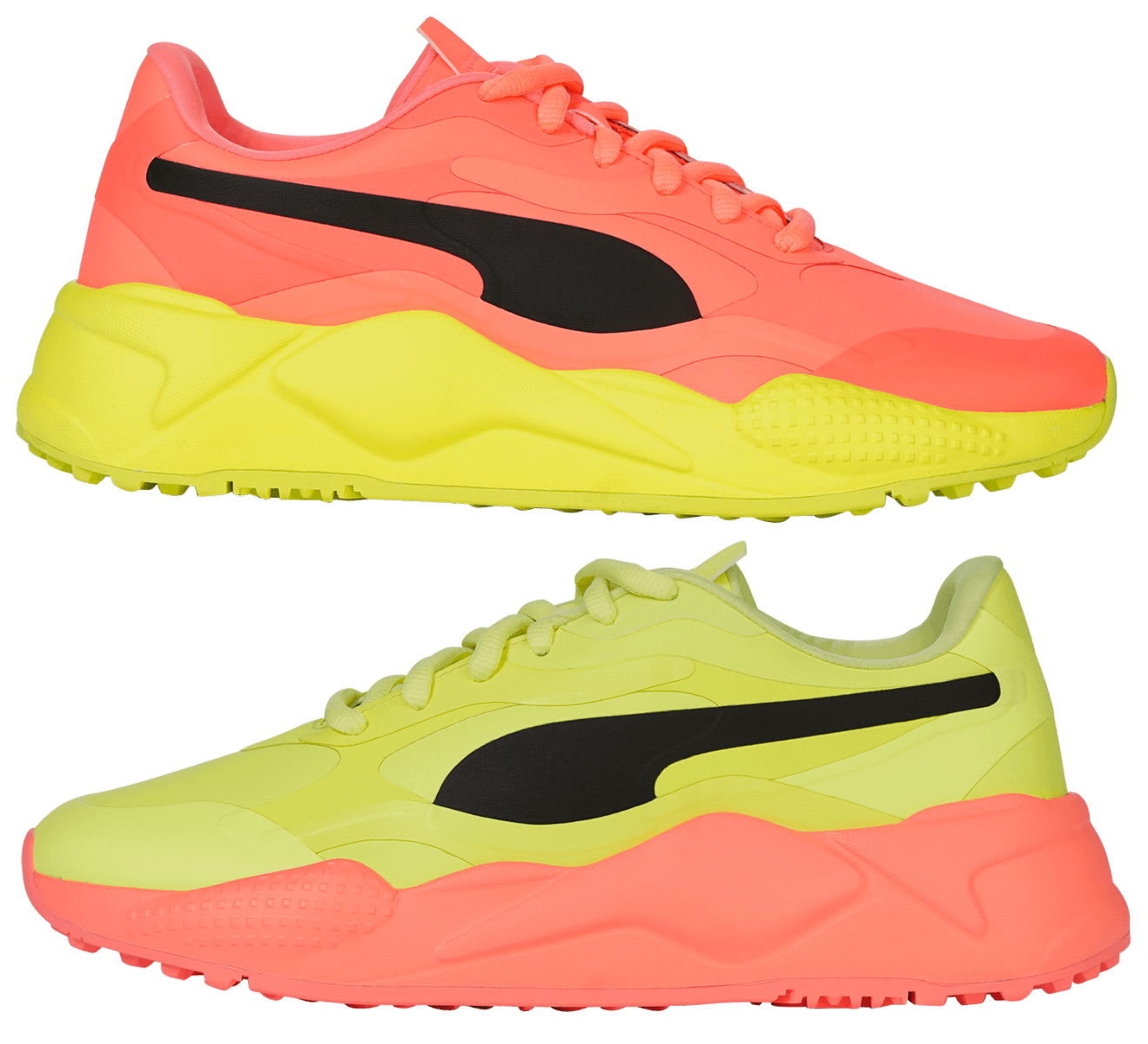 Puma Rs G Rise Up Golf Shoes 2020 Fizzy Yellow Nrgy Black Carl S Golfland