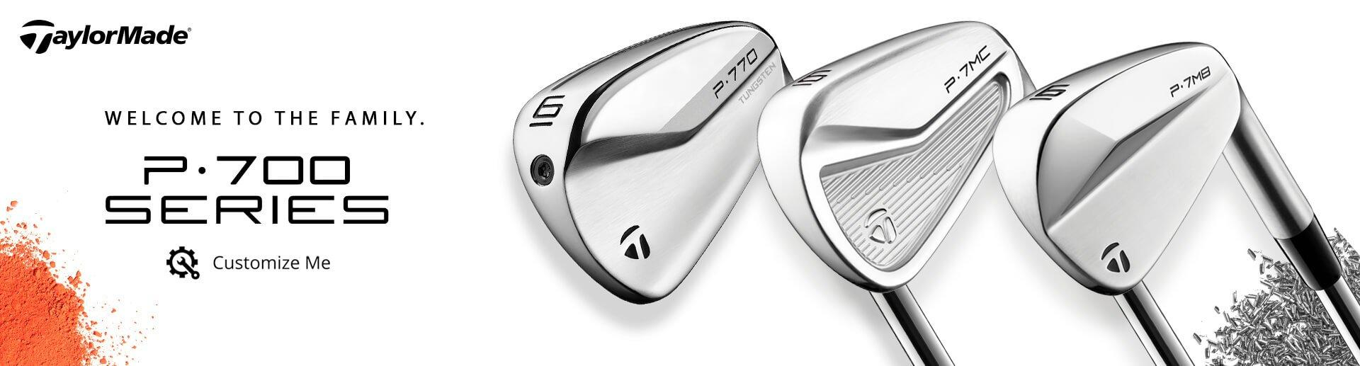 NEW TaylorMade P700 Series Irons