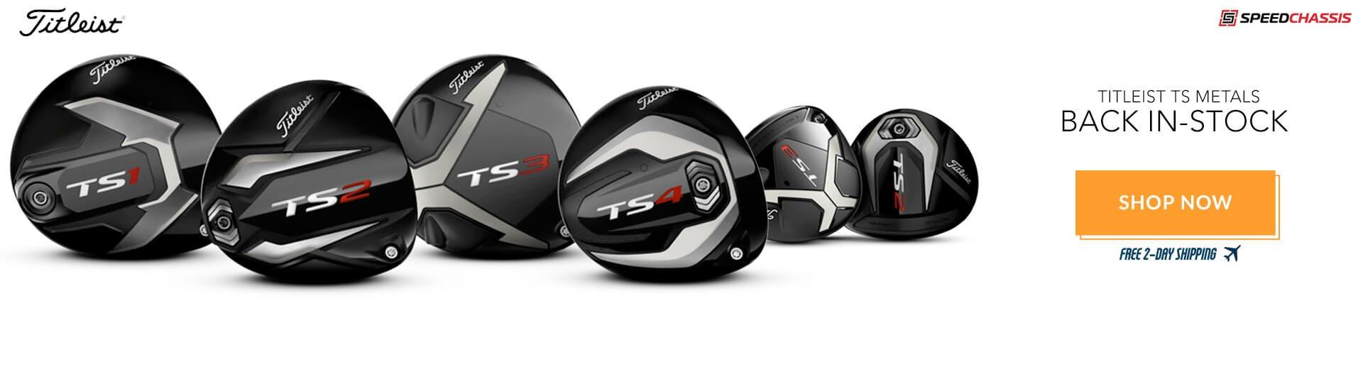 Titleist TS Metals - Back In-Stock