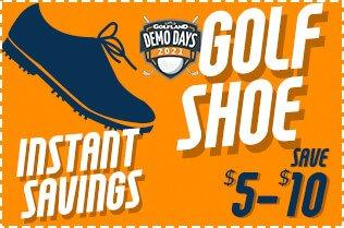 Demo Day Shoe Instant Savings