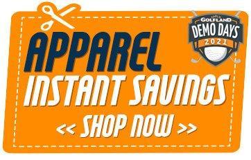 Apparel Demo Day Instant Savings
