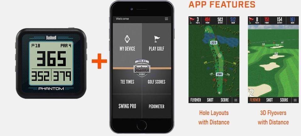 Bushnell Phantom Golf GPS Unit