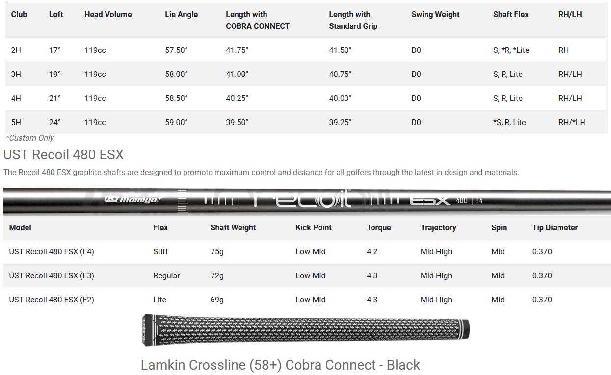 Cobra RADSPEED Hybrids 2021 - Black/Turbo Yellow